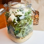 Lemony White Bean Salad-in-a-Jar
