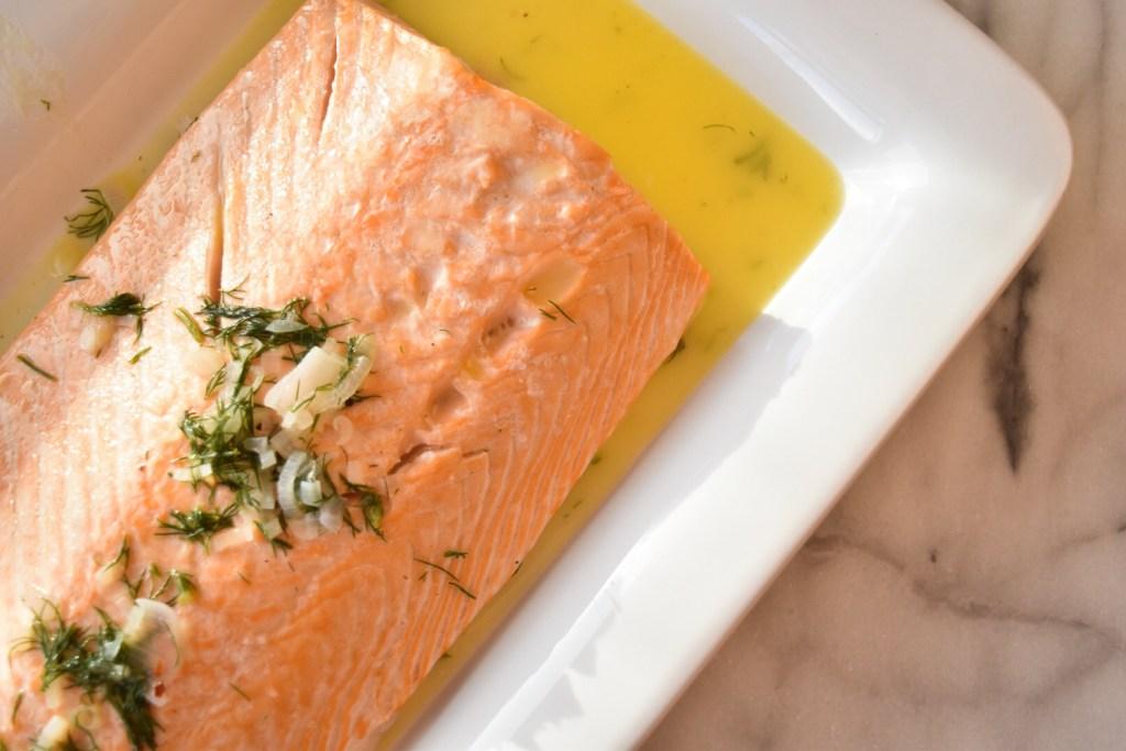 Salmon Butter Dill