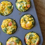 Healthy Egg White Breakfast Muffins
