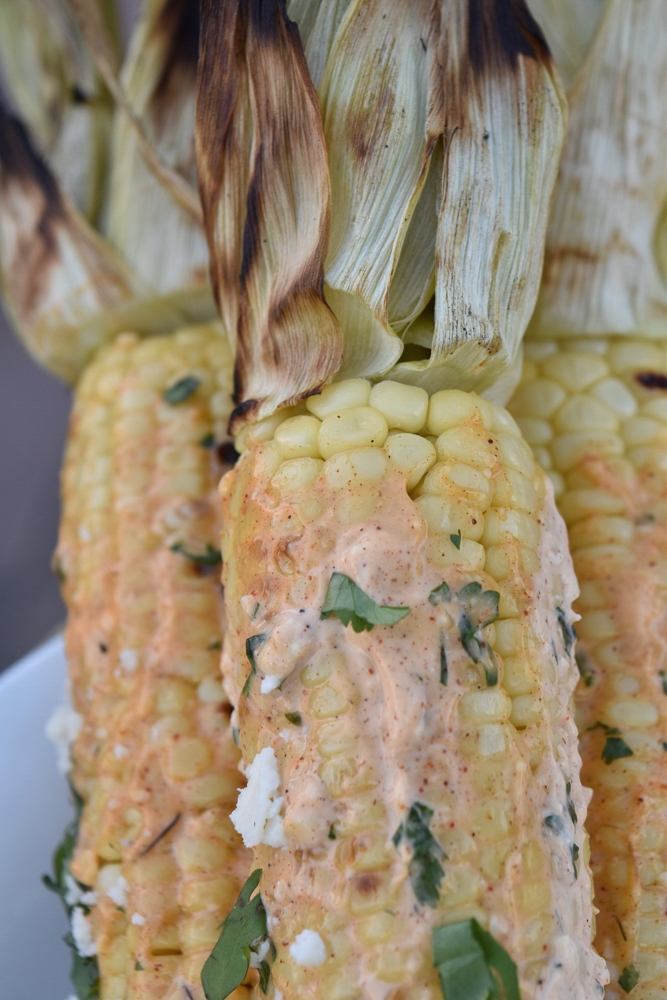 Mexican Street Corn closeup