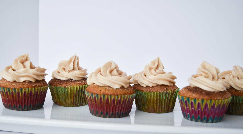 Churro Cupcakes Using Cake Mix