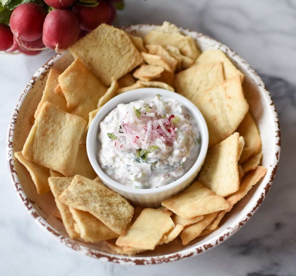 Radish and Cucumber Tzatziki 3