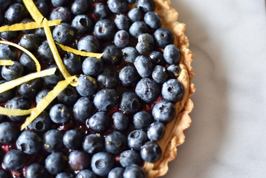 Blueberry Lemon Cream Cheese Tart