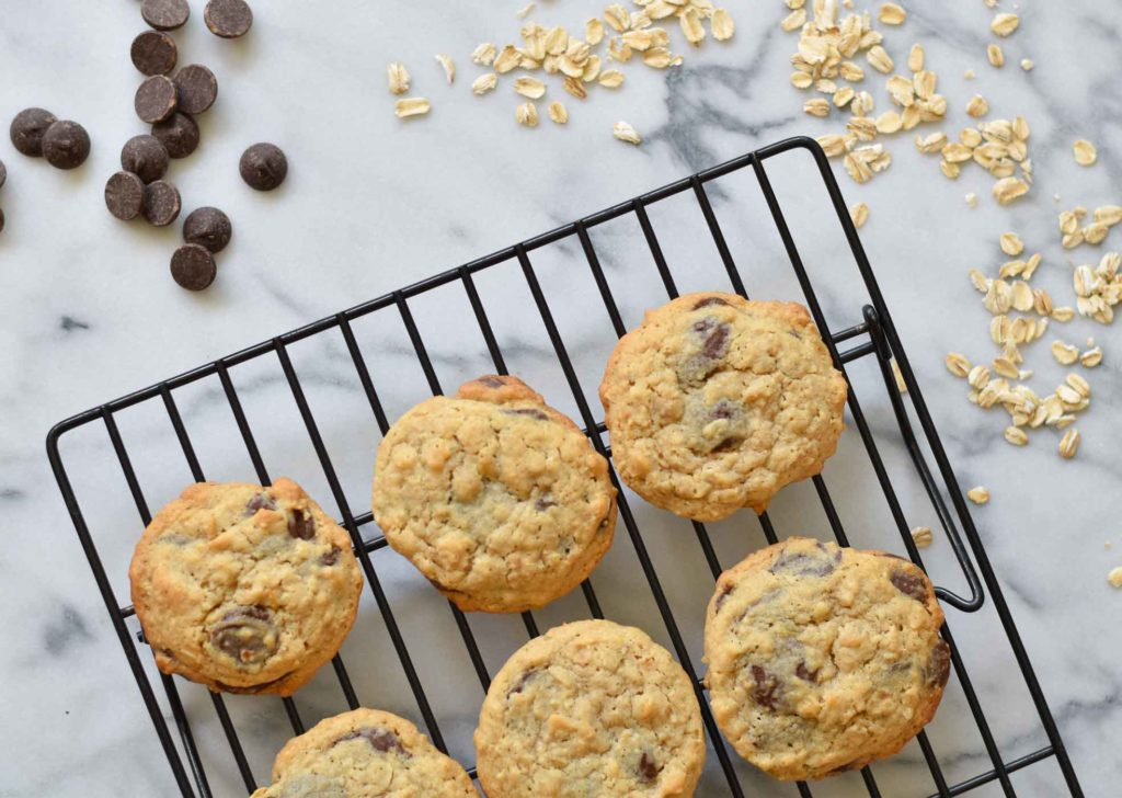 Oatmeal Chocolate Chip Cookies Good Food Reads