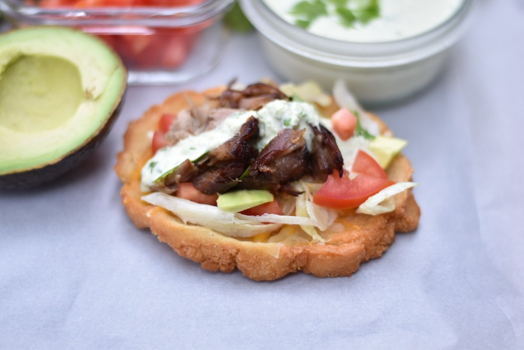Pulled Pork Sopes