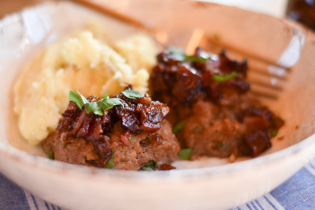 Bourbon Bacon Meatloaf