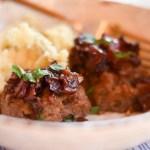 Bourbon Bacon Meatloaf