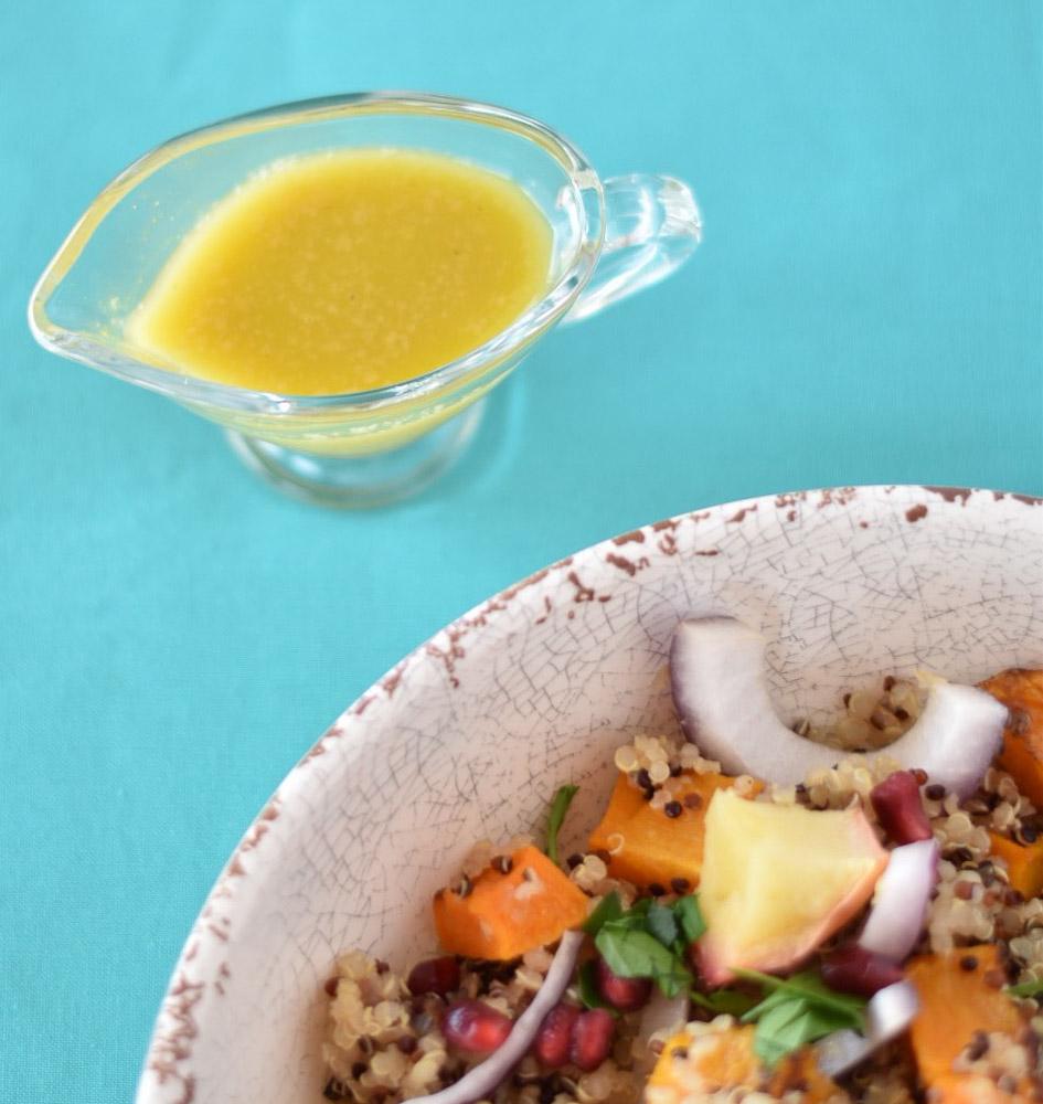 Roasted Squash and Quinoa Salad