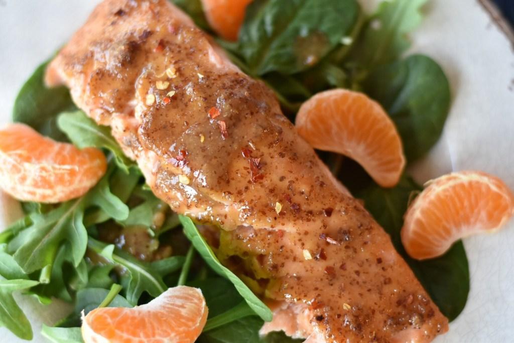 Maple Mustard Salmon