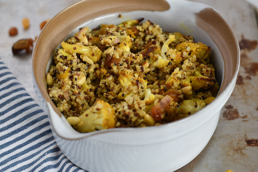 Cauliflower Quinoa Curry