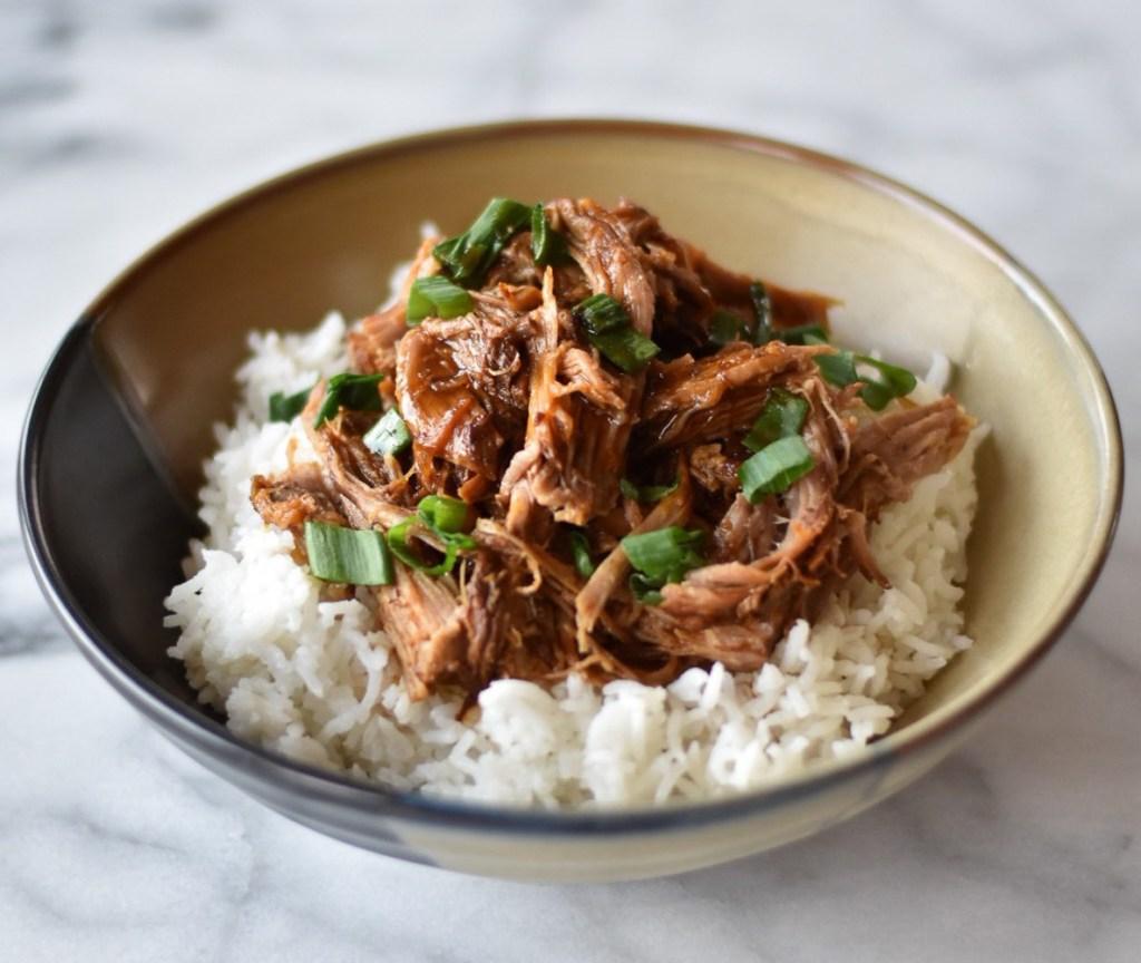 Instant Pot Korean Inspired Pulled Pork