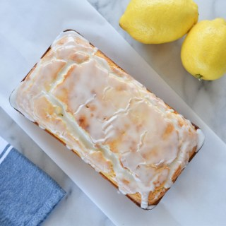 Easy Glazed Lemon Bread
