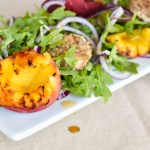 A Moveable Feast: Grilled Peach and Arugula Salad