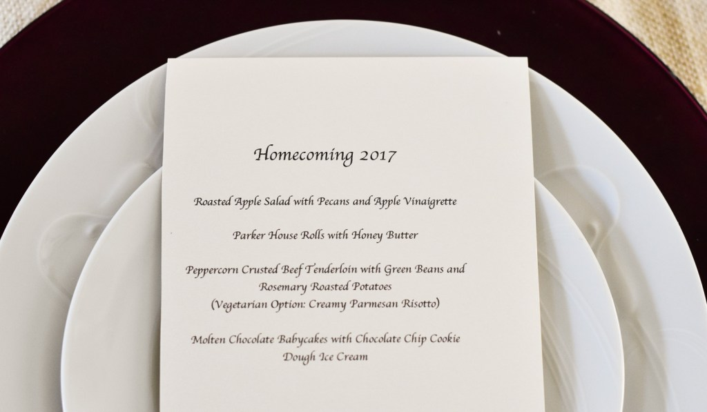 Good Food Reads: Homecoming 2017