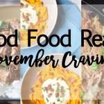 Good Food Reads: November Cravings