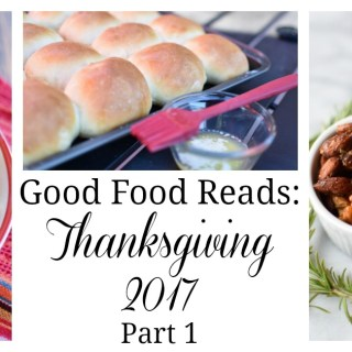 Good Food Reads, a collection of thanksgiving foods
