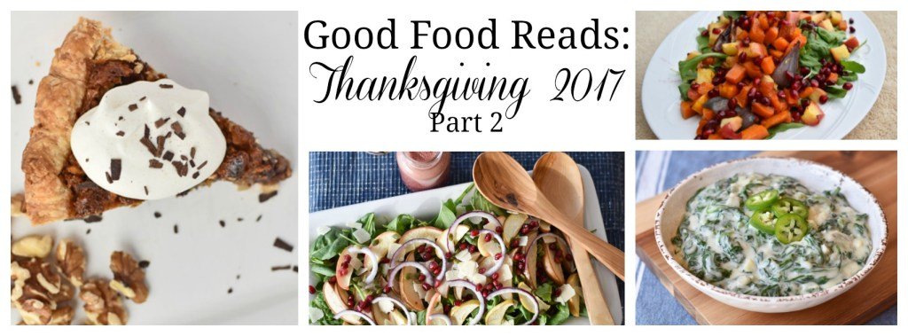Good Food Reads Thanksgiving Part 2