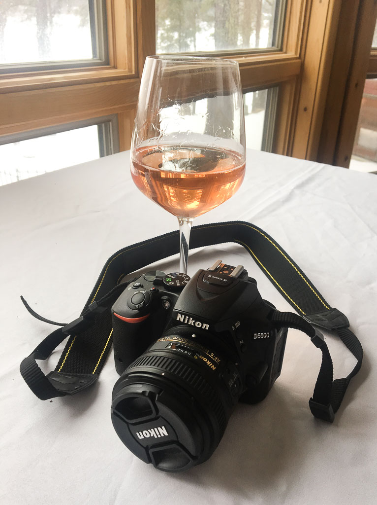 How to Start a Blog rose and camera