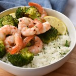 Lemon Roasted Shrimp with Broccoli and Rice: A Sheet Pan Dinner