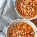 Instant Pot Bean and Bacon Soup