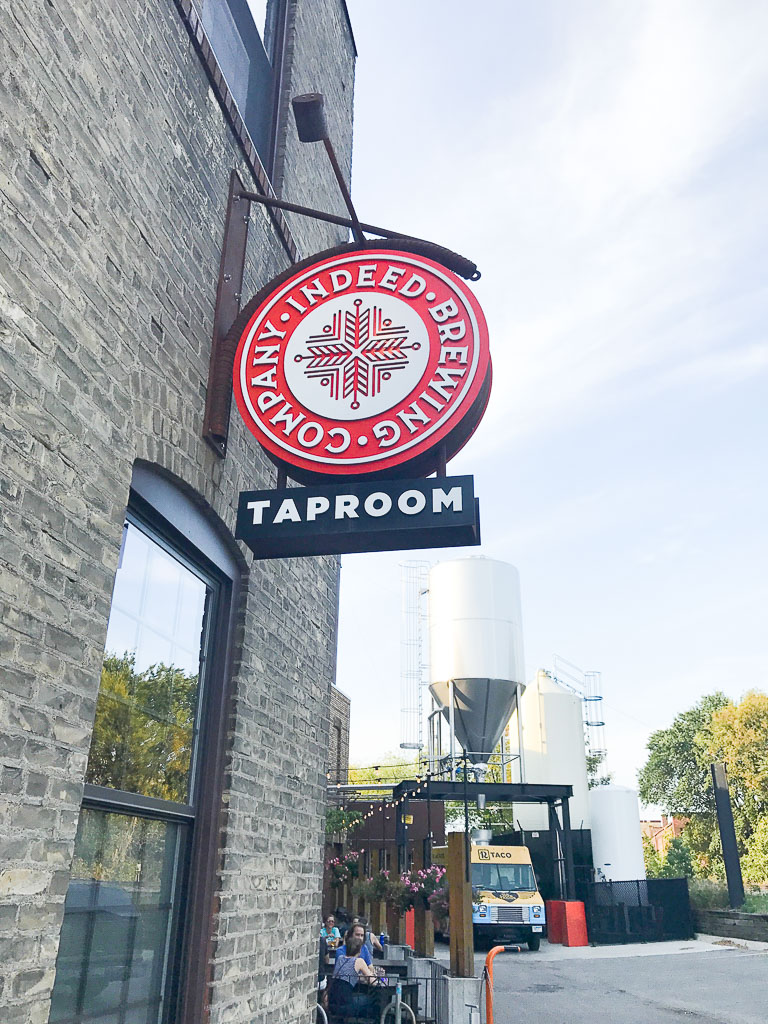 Northeast Minneapolis Brewery Tour Indeed Brewing Company