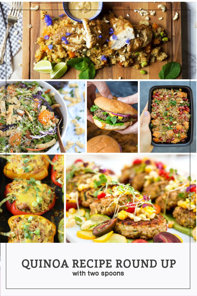 Pinterest Long Pin Quinoa Recipe Round Up