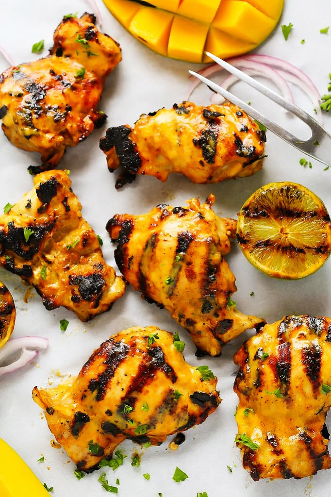 Mango Lime Grilled Chicken by Platings and Pairings