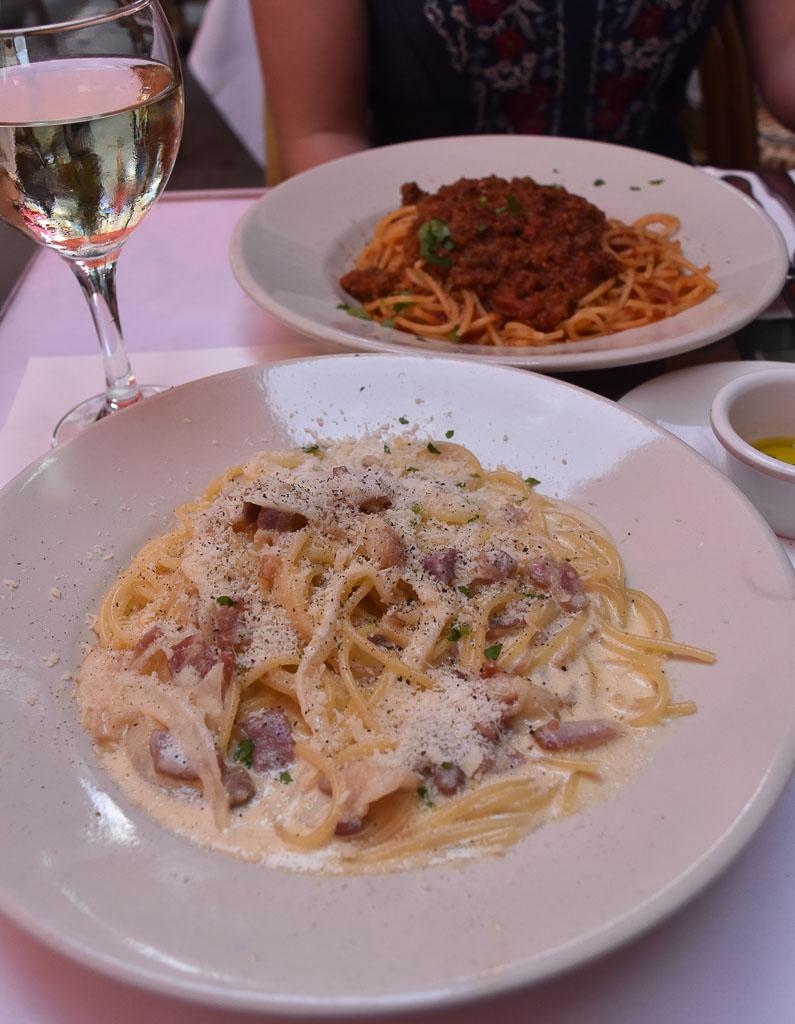 New York City Pasta in Little Italy