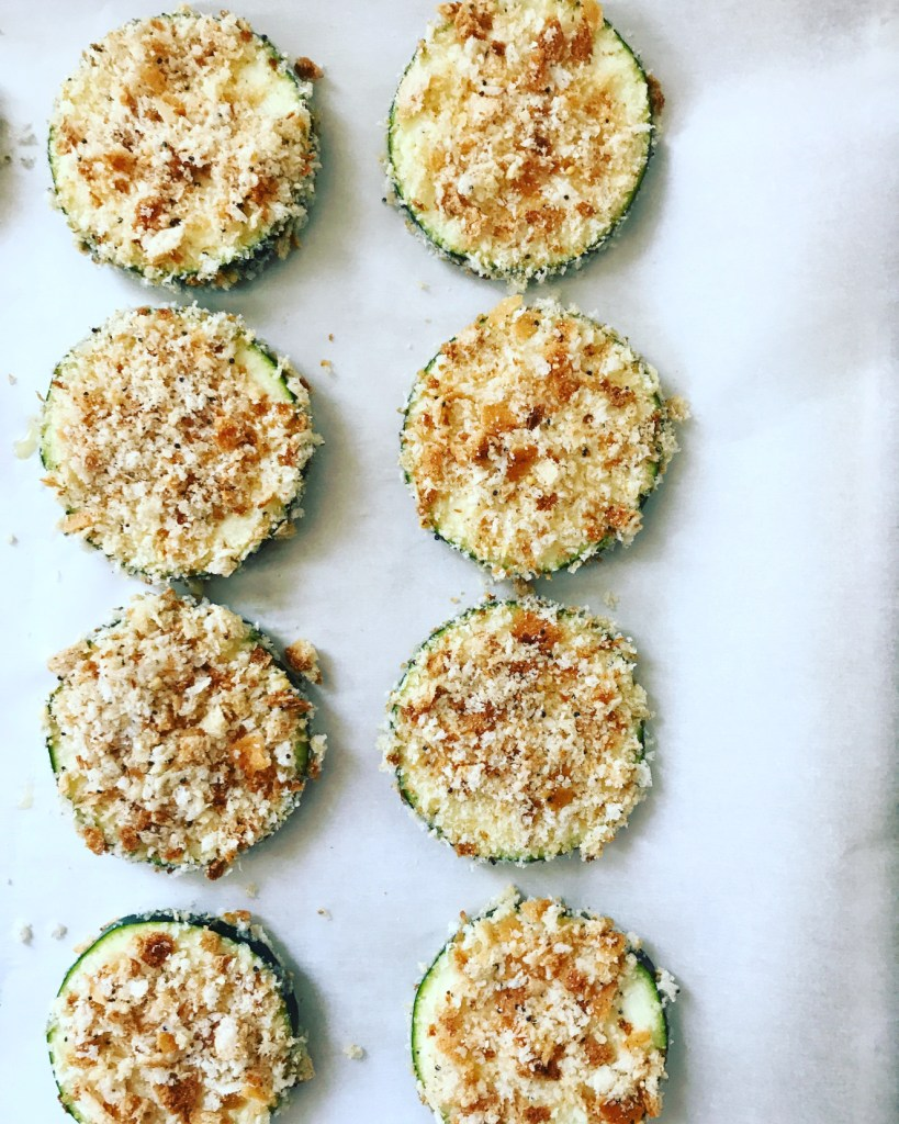Parmesan Zucchini Rounds by Girl Meets Kitchen. Minnesota Summer