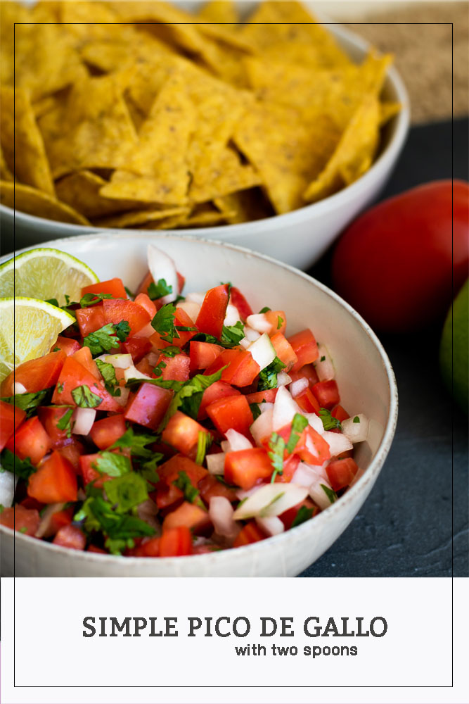 Simple Pico de Gallo