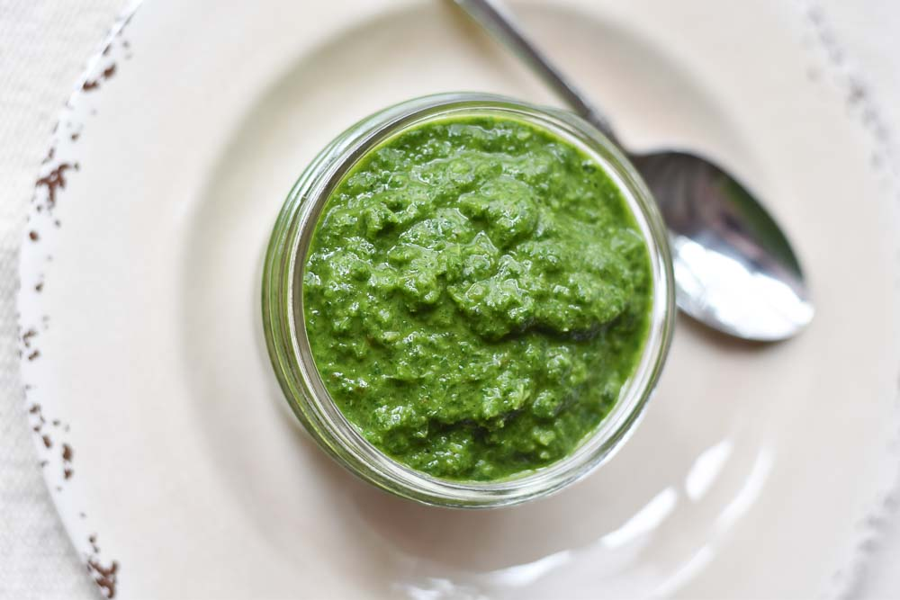 The best chimichurri sauce, perfect for making Chimichurri Pork Tenderloin #chimichurri #sauce