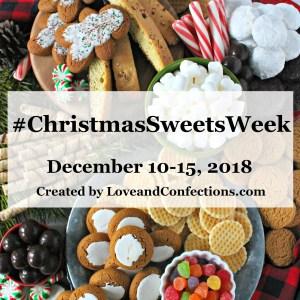Christmas Sweets Week logo, square