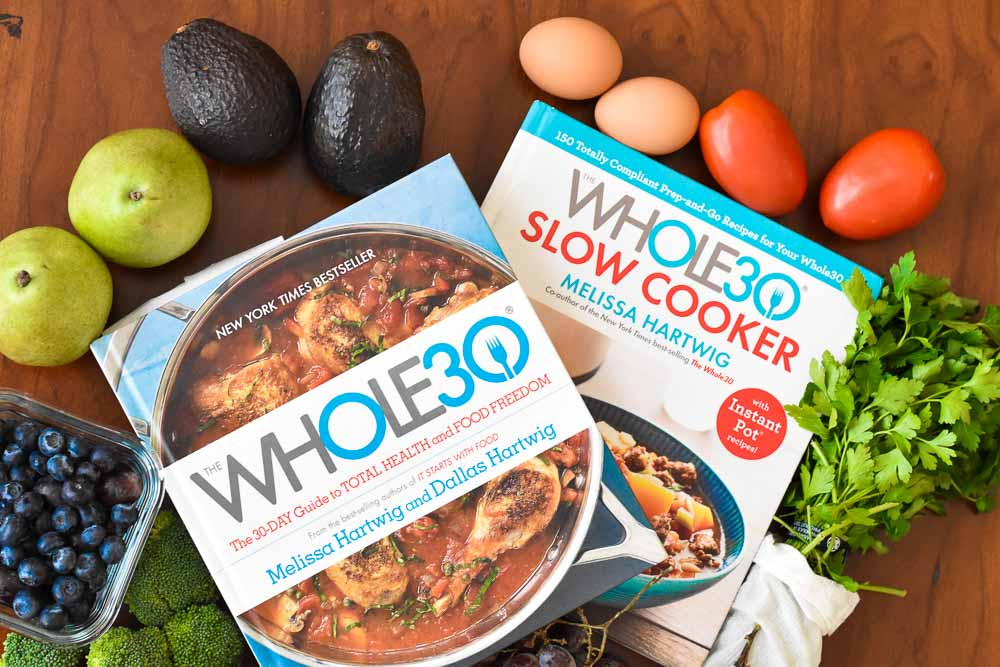 What I learned from the Whole30. Cookbooks and fresh food.