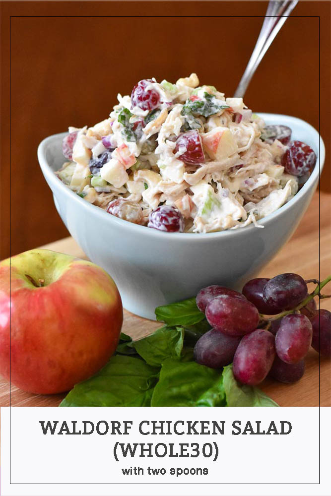 Waldorf Chicken Salad Pinterest Long Pin