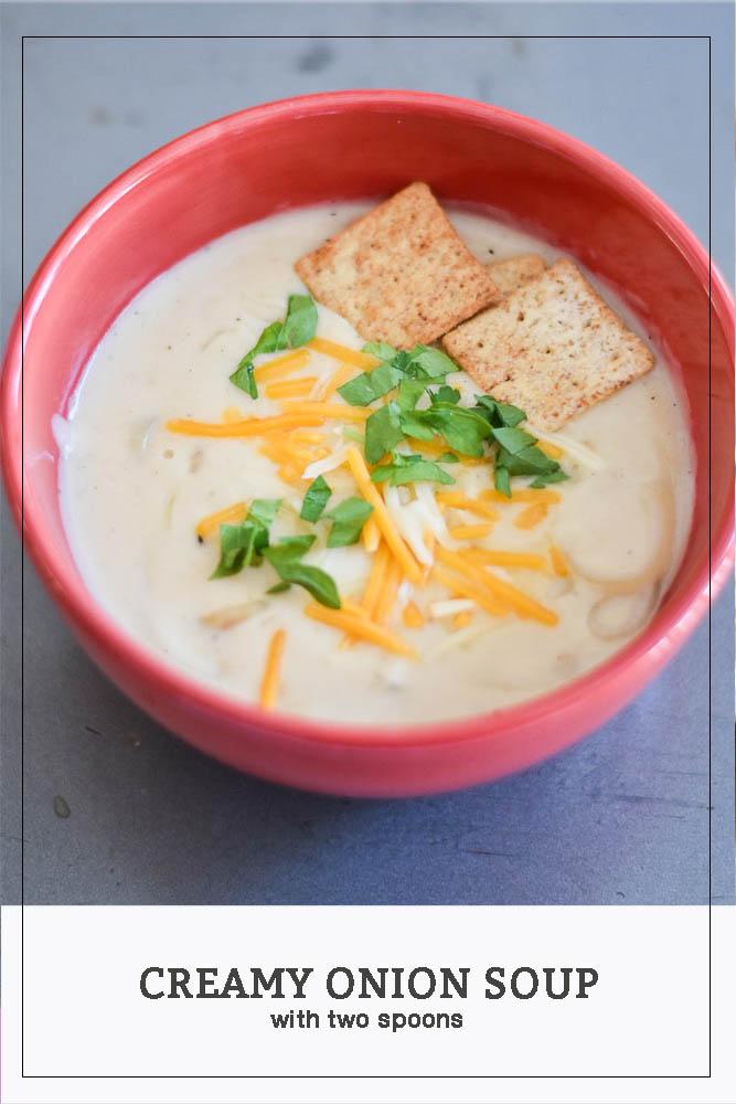 Creamy Onion Soup Photo