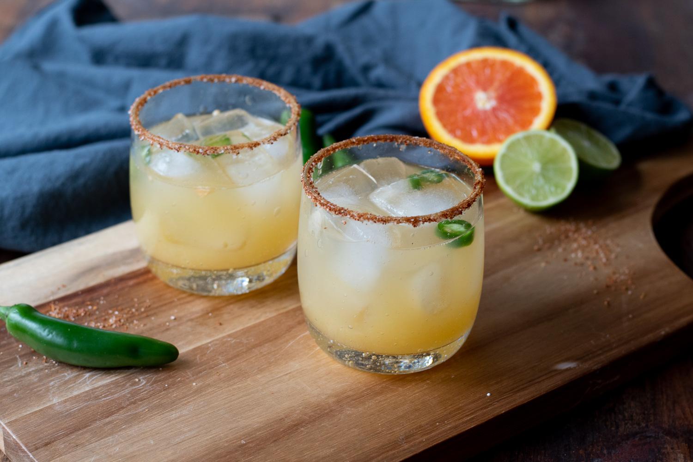Skinny Chili Lime Margarita