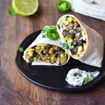 Summer Vegetable Breakfast Burritos