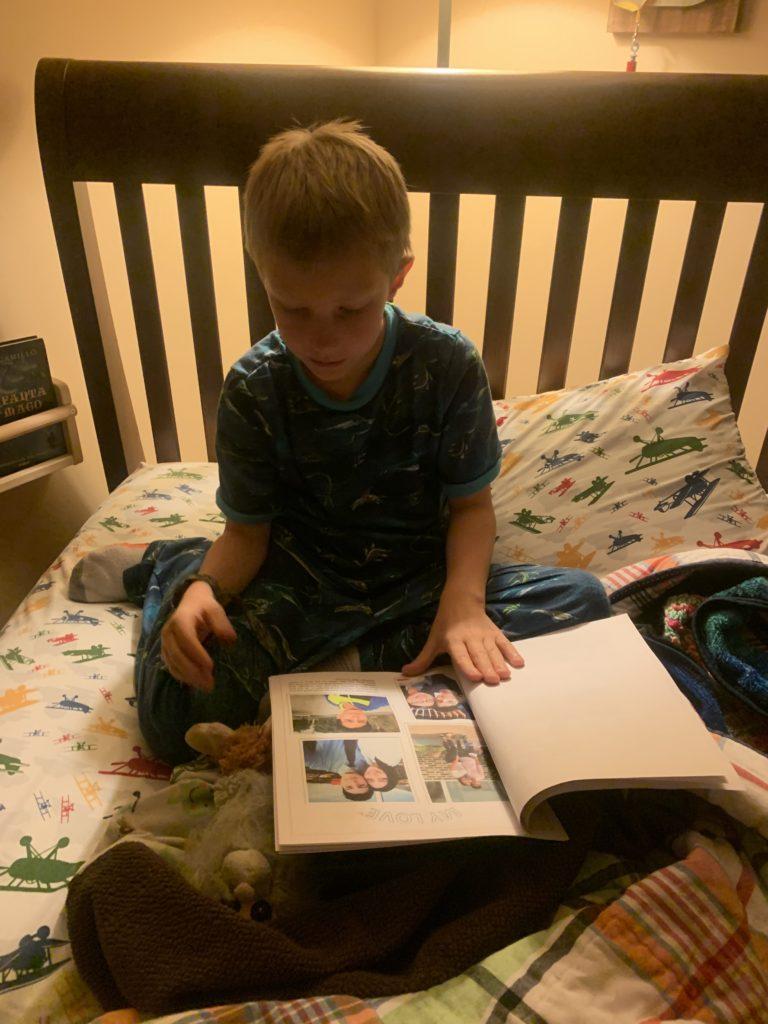 Reading Gaby's letter