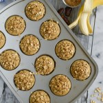 Banana Oat Blender Muffins (Gluten Free!)