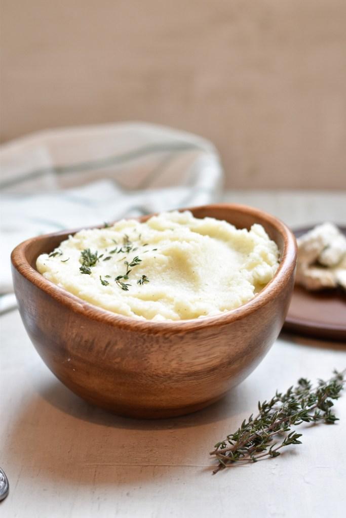 Instant Pot Herbed Cauliflower Mash