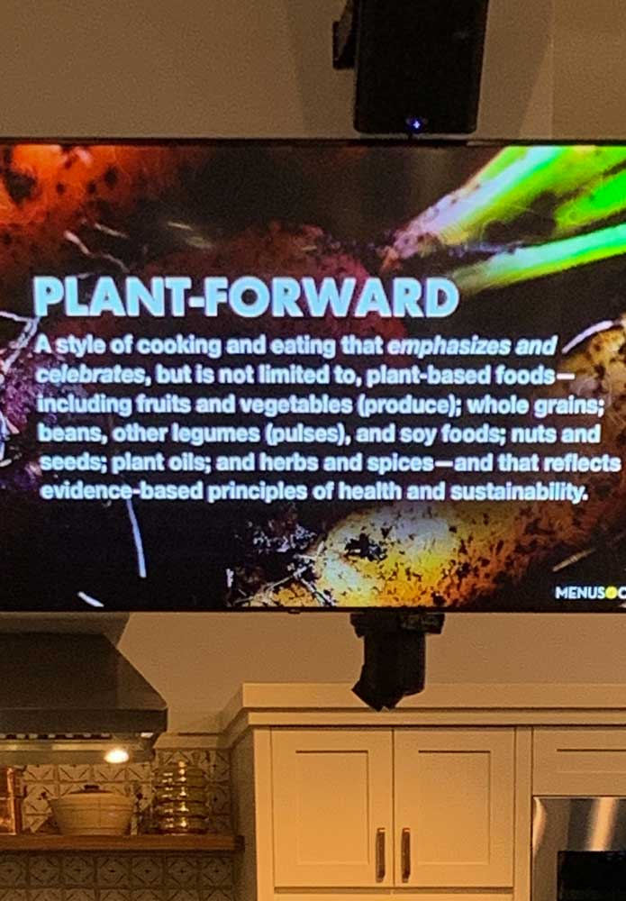 Healthy Kitchens, Healthy Lives 2020 Plant Forward