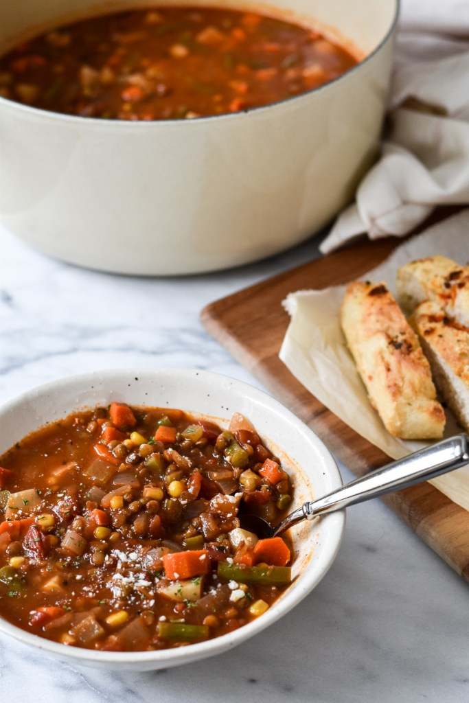 Healthy Lentil Vegetable Soup