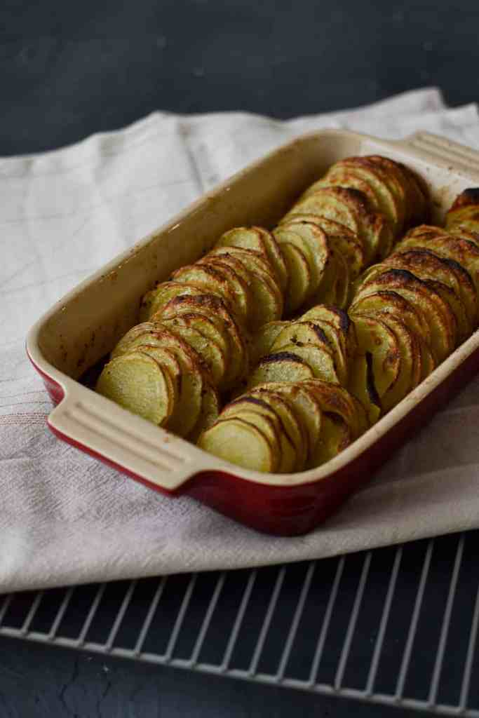 Almost Fancy Roasted Potatoes