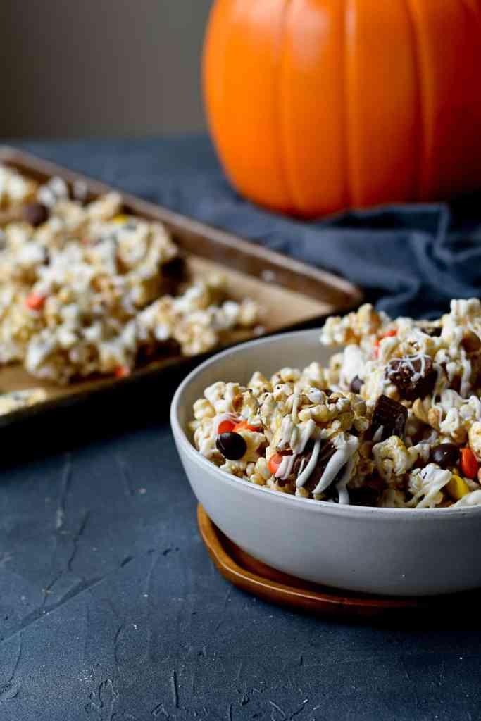 Halloween Caramel Corn