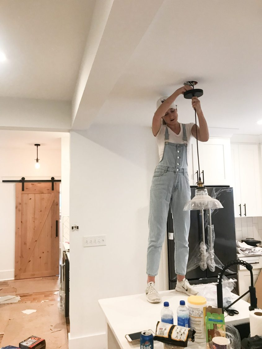 expectation vs. reality of a home renovation