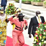 PICTORIAL: Show of affection as more MPs swear-in