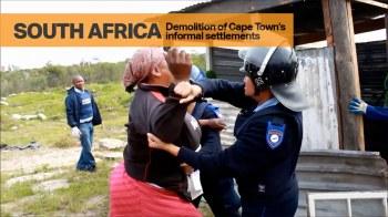 Demolition of Cape Town's Informal Settlements