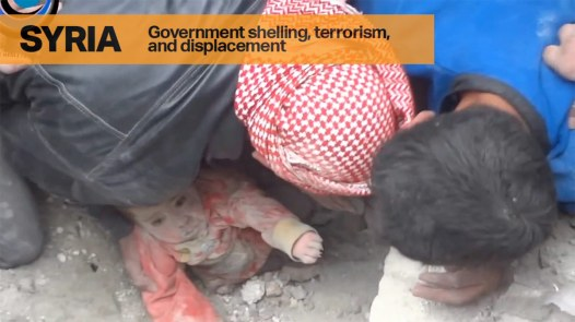 Government Shelling, Terrorism and Displacement in Syria