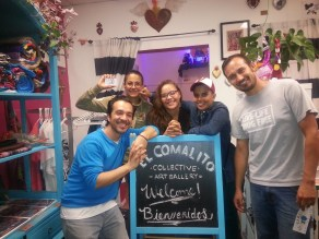 El Comalito Collective collaborated with a variety of events in Vallejo and Napa Valley including a Sip + Paint fundraiser in addition to a food sovereignty and food justice event and LGBTQ movements in the Americas.