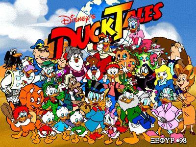 Duck Tales! Whoohoo